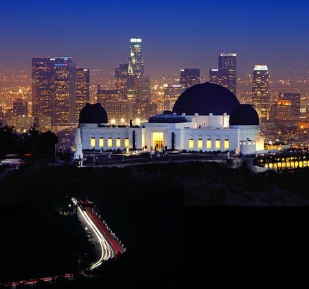 Griffith Observatory à Los Angeles, Californie