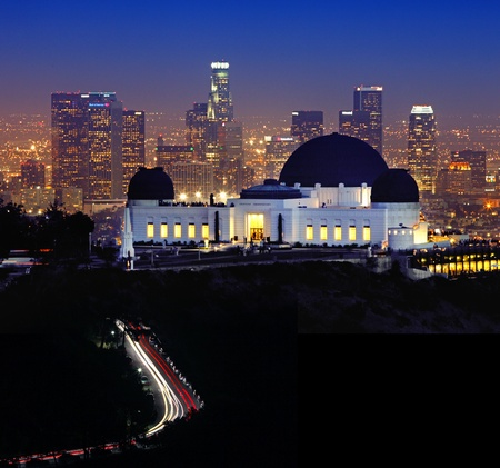 Griffith Observatory di Los Angeles, California