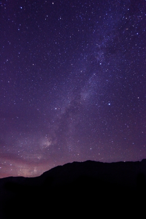 timelapse: Long Exposure Time Lapse Image of the Night Stars