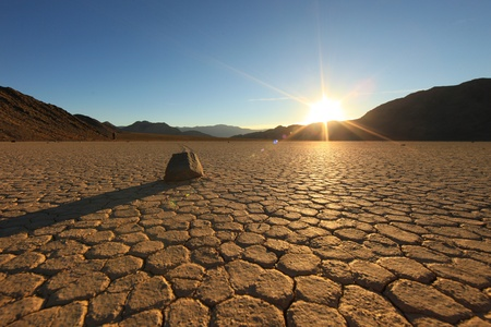 mojave desert: Landscape in Death Valley National Park, California Stock Photo
