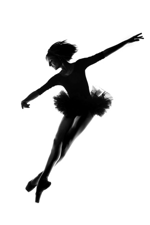 Ballerina Woman in Studio photo