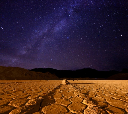 death valley: Star Milky Way Formation in Death Valley California