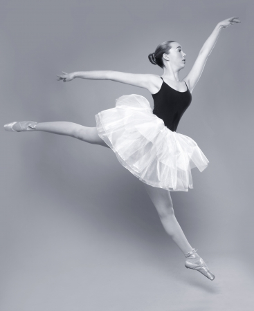 Portrait of a Beautiful Ballet Dancer Stock Photo - 18349060