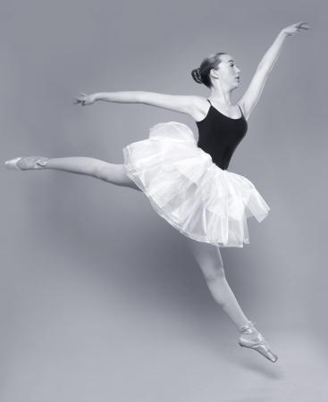Portrait of a Beautiful Ballet Dancer Stock Photo - 18349060
