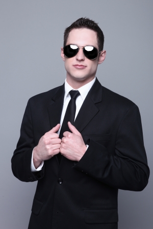 Portrait of a Smiling Young Business Man Stock Photo - 18349073