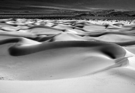 Sand Dune Formations in Death Valley National Park, California Stock Photo - 19485821