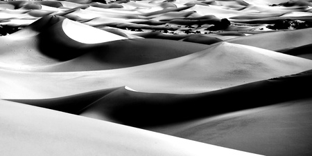 Sand Dune Formations in Death Valley National Park, California Stock Photo - 19485798