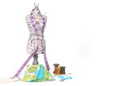notions: Costura y Quilting rosca con nociones sobre Blanco