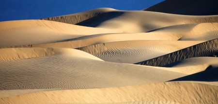 Sand Dune Formations in Death Valley National Park, California Stock Photo - 19485830