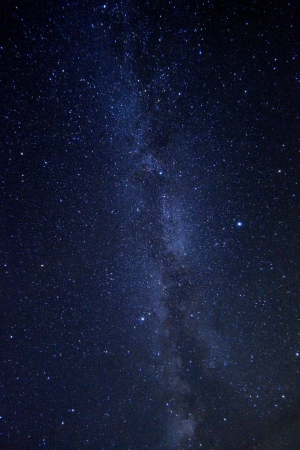 Long Exposure Time Lapse Image of the Night Stars Stock Photo - 19485856