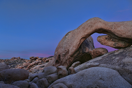 Striking Landscape in Joshua Tree National Park photo