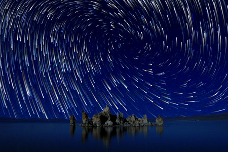 nebulous: Beautiful Landscape Image of the Tufas of Mono Lake