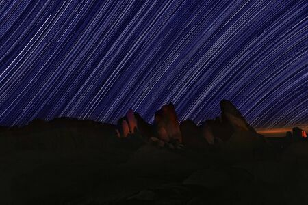 astral: Night Star Trails in Joshua Tree National Park