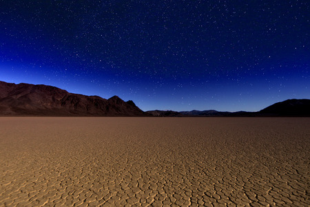 desolation: Sand Dune Formations in Death Valley National Park, California