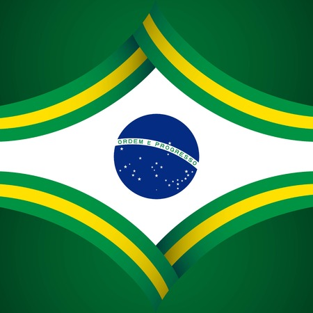 Happy Brazil Independence Day Vector Template Design Illustration 일러스트