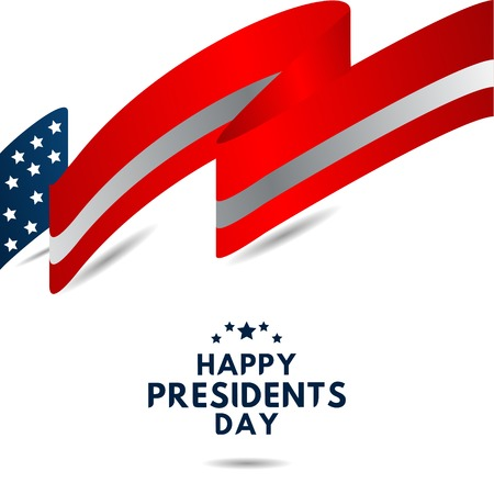 Happy Presidents Day Vector Template Design Illustration 스톡 콘텐츠 - 124361920
