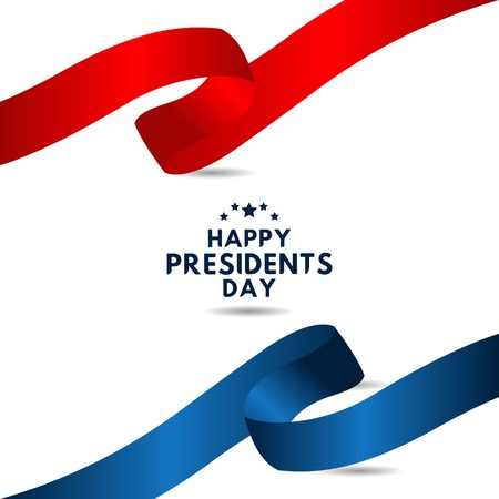 Happy Presidents Day Vector Template Design Illustration 스톡 콘텐츠 - 124361923
