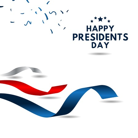 Happy Presidents Day Vector Template Design Illustration 스톡 콘텐츠 - 124361926