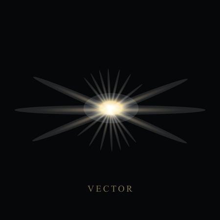 Shine Vector Template Design Illustration