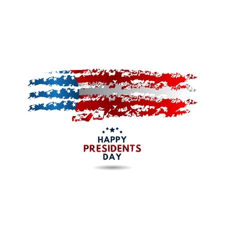 Happy Presidents Day Vector Template Design Illustration Stock Vector - 118907179