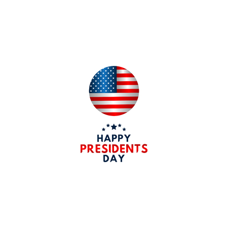 Happy Presidents Day Vector Template Design Illustration 스톡 콘텐츠 - 124361954