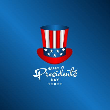Happy Presidents Day Vector Template Design Illustration 스톡 콘텐츠 - 124361957