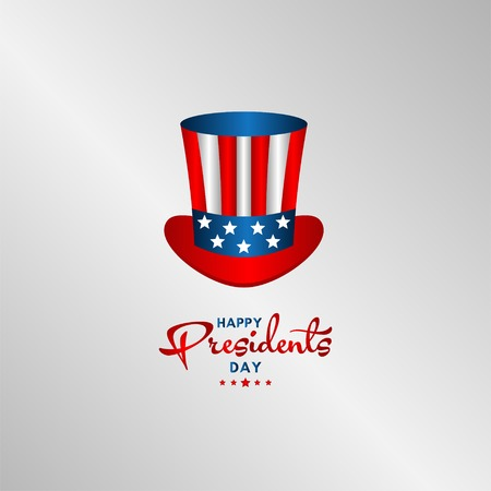 Happy Presidents Day Vector Template Design Illustration 스톡 콘텐츠 - 124361960