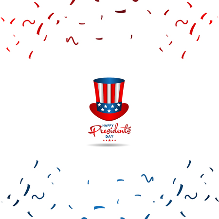 Happy Presidents Day Vector Template Design Illustration 스톡 콘텐츠 - 124361972