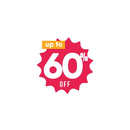 Discount up to 60% off Label Vector Template Design Illustration