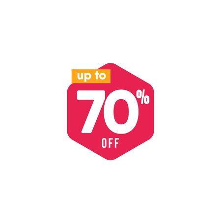 Discount up to 70% off Label Vector Template Design Illustration