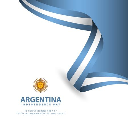 Argentina Independence Day Vector Template Design Illustration