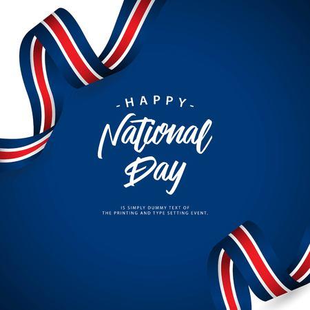 Happy Australia National Day Vector Template Design Illustration