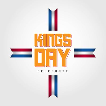 Kings Day Celebrate Vector Template Design Illustration Фото со стока - 123726372