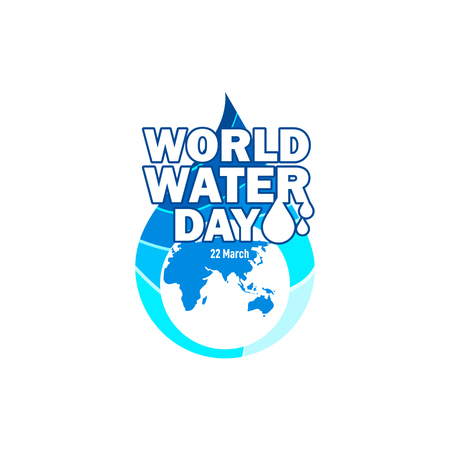 World Water Day Vector Template Design Illustration