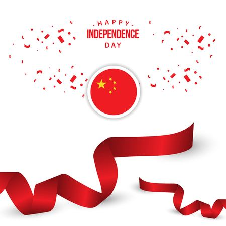 Happy China Independence Day Vector Template Design Illustration