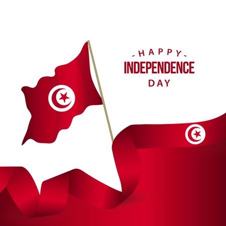 Happy Turkey Independence Day Vector Template Design Illustration Ilustração