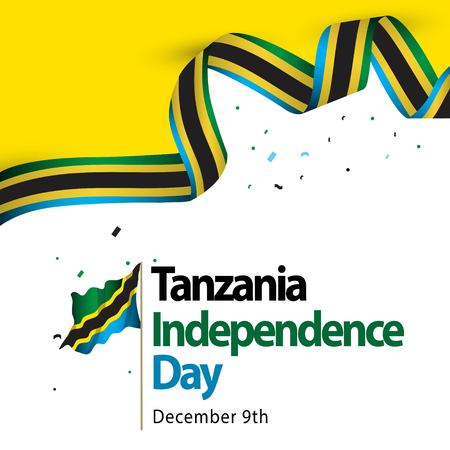 Tanzania Independence Day Vector Template Design Illustration 일러스트