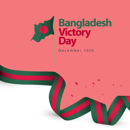 Bangladesh Victory Day Vector Template Design Illustration