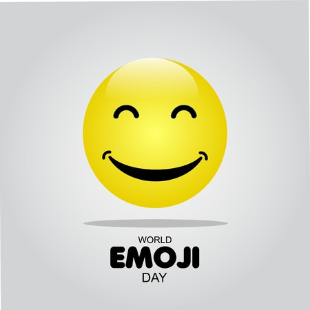 World Emoji Day Vector Template Design Illustration Illustration