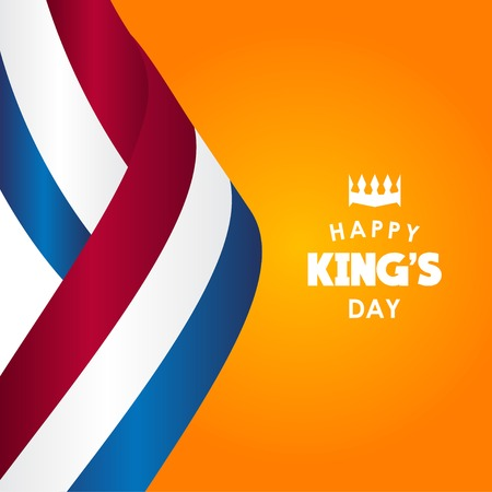 Happy King's Day Vector Template Design Illustration