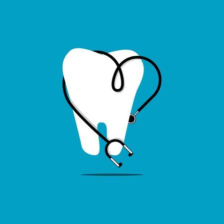 Dental Clinic Logo Vector Template Design Illustration
