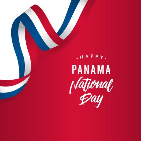 Happy Panama National Day Vector Template Design Illustration