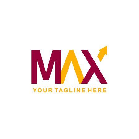 Max Logo For Company Vector Template Design Illustration
