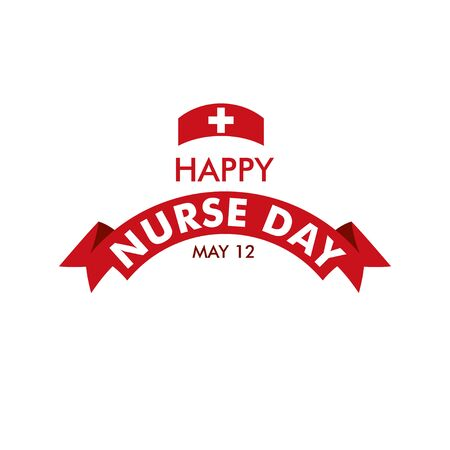 Happy Nurse Day Vector Template Design Illustration