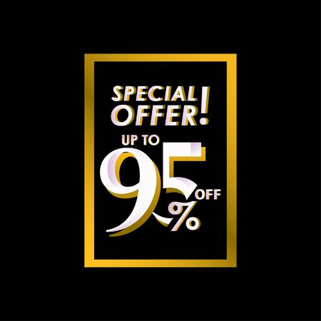 Discount Special Offer up to 95% off Label Vector Template Design Illustration Stock Illustratie