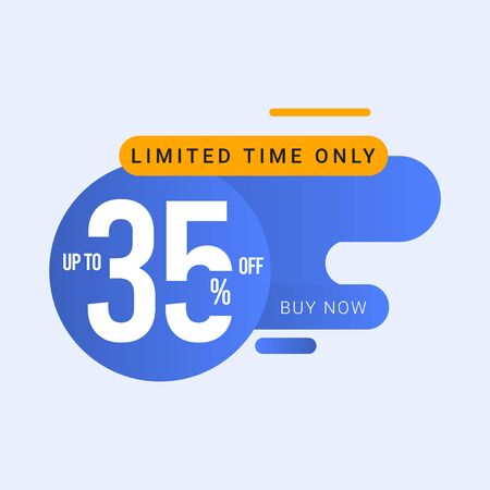 Discount up to 35% off Limited Time Only Vector Template Design Illustration 일러스트
