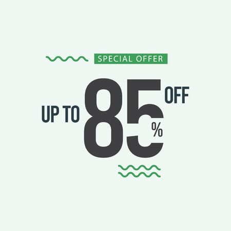 Discount Special Offer up to 85% off Vector Template Design Illustration 일러스트