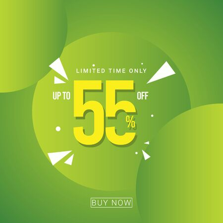 Discount up to 55% Limited Time Only Vector Template Design Illustration 일러스트