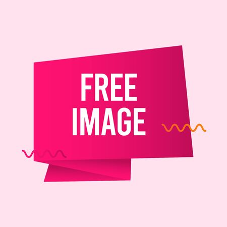 Free Image Text Label Vector Template Design Illustration