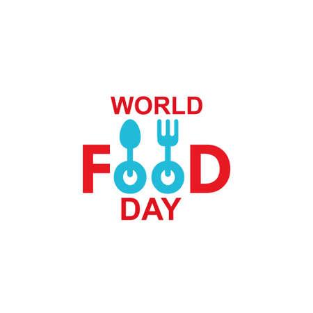 World Food Day Celebration Vector Template Design Illustration Illustration